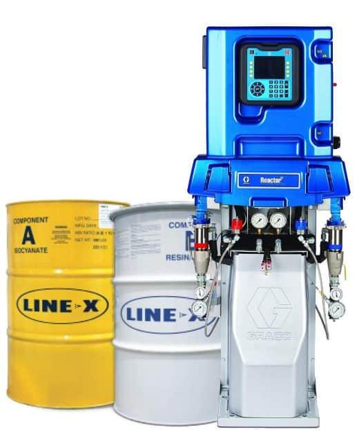 LINE-X Equiptment