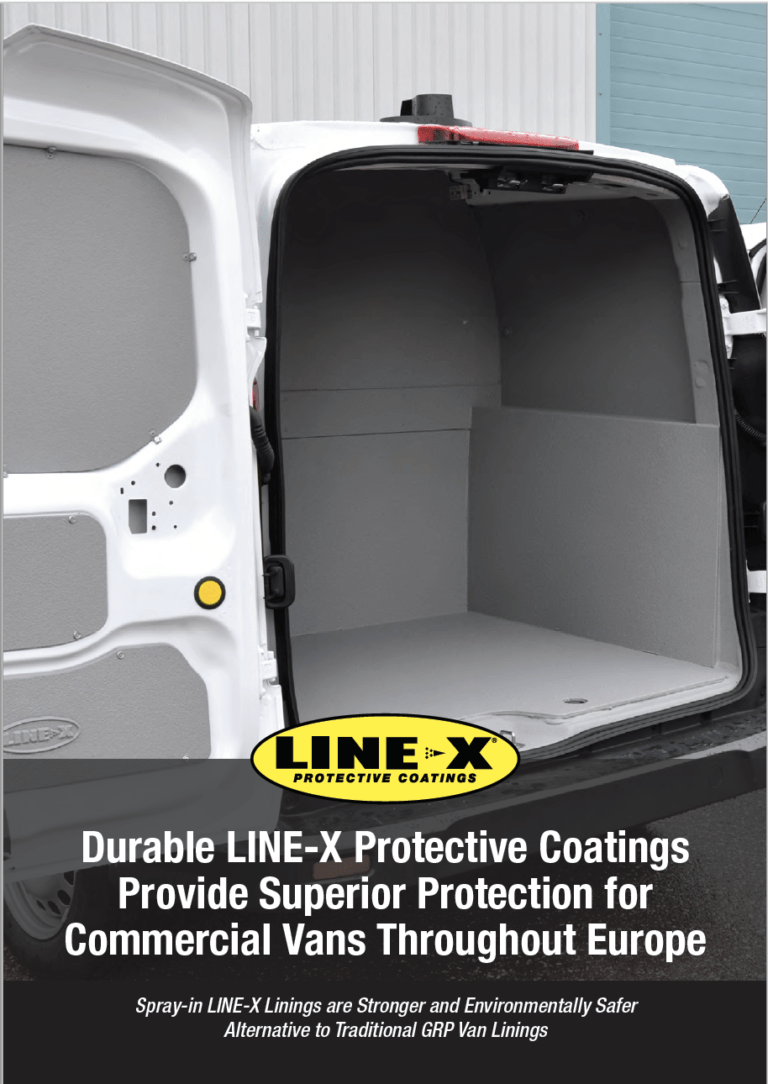 Durable LINE-X Protective Coatings Provide Superior Protection for Commercial Vans